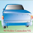 VG Commodore Ute by LittleBrumby