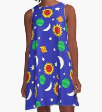 Gets Lost in Space A-Line Dress