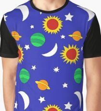 Gets Lost in Space Graphic T-Shirt