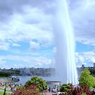 David Lam Park Water Cannon - Vancouver BC Canada by Hiroko