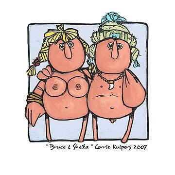 Bruce & Sheila by cfkaatje