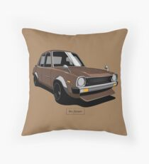 Mitsubishi Lancer 1st Gen (A70) Throw Pillow