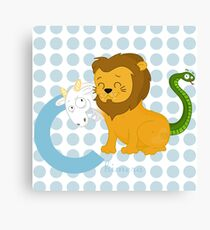 c for chimera Canvas Print