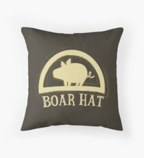 The Seven Deadly Sins (Boar Hat Sign) Throw Pillow