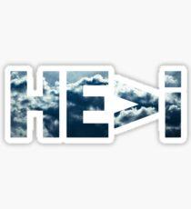 HE>i Cloudy Sky Sticker