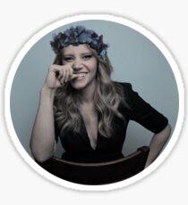 Kate Mckinnon- Royal Blue Sticker