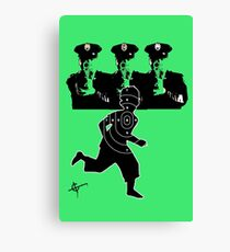 Cops Canvas Print