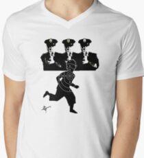 Cops Men's V-Neck T-Shirt