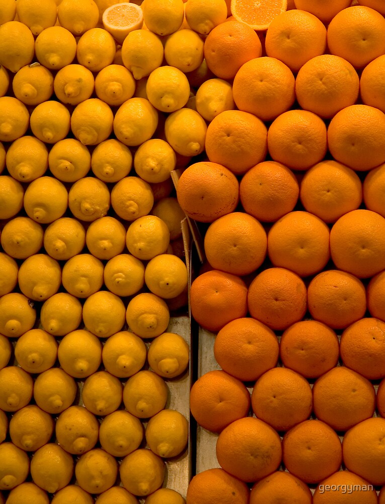 Oranges and Lemons by georgyman