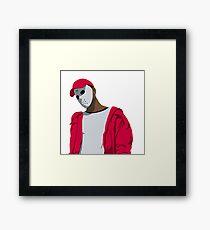 Ski Mask The Slump God Minimal Design Framed Print