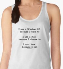 Windows - Mac - Linux Women's Tank Top