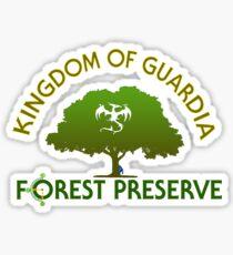Guardia Forest Preserve Sticker