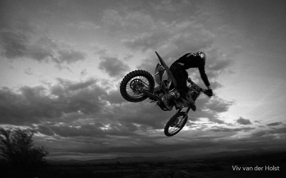 Motor X jump by Viv van der Holst