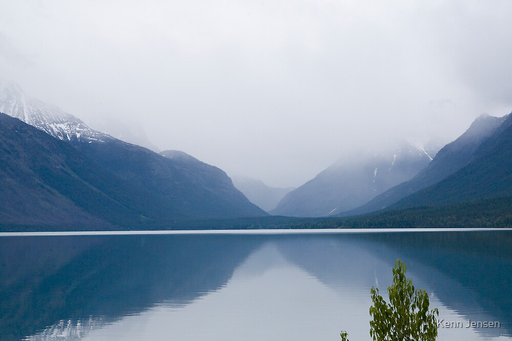 Lake McDonald, Glacier National Park by Kenn Jensen