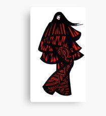 Eskimo girl Canvas Print