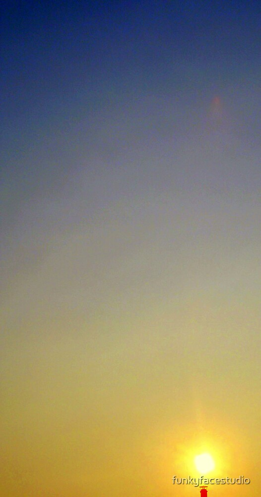 Resting Sun by funkyfacestudio
