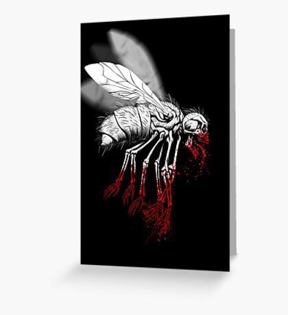 INSECT POLITICS Greeting Card