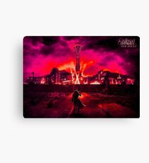 Fallout- New Vegas Canvas Print