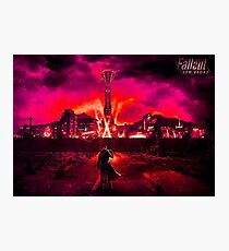 Fallout- New Vegas Photographic Print