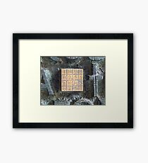 Sagrada de la Codex Framed Print