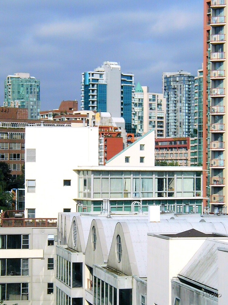 Home in the inner city - Vancouver BC Canada by Hiroko