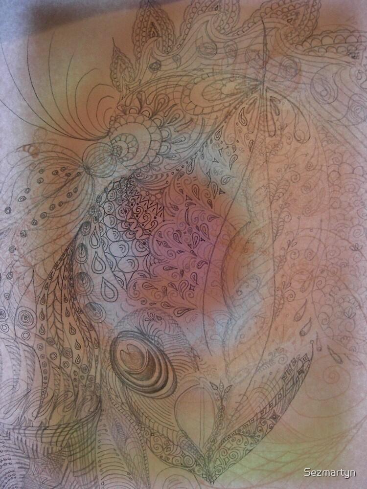 Drawing by Sezmartyn
