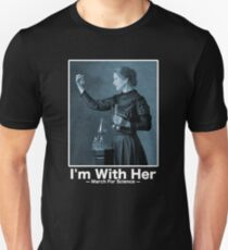 Science March — I'm With Marie Curie Unisex T-Shirt
