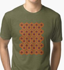 Overlook Hotel Carpet (The Shining)  Tri-blend T-Shirt