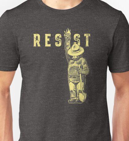 Smokey Says Resist Unisex T-Shirt