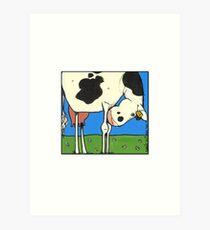 Cow IV Art Print