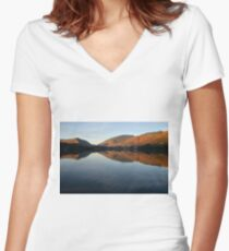 Grasmere Women's Fitted V-Neck T-Shirt