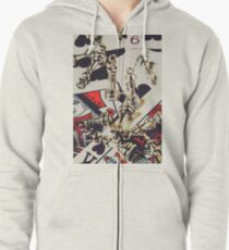 Game of still life Zipped Hoodie