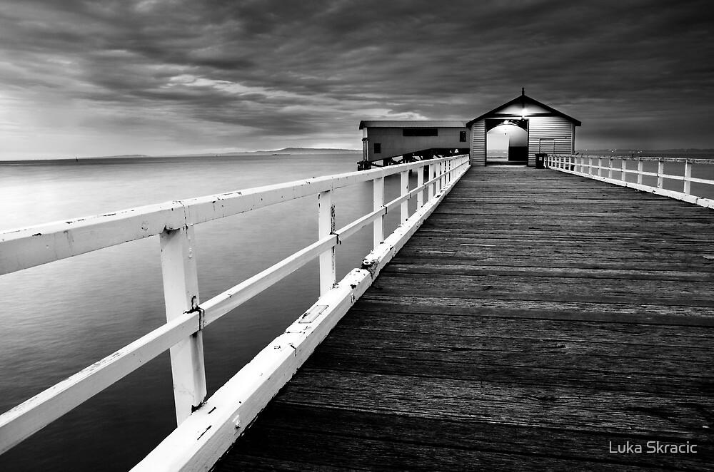 Queenscliff Pier by Luka Skracic