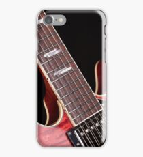 Crimson Guitar iPhone Case/Skin