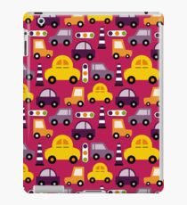 Kids Car Traffic Jams  iPad Case/Skin