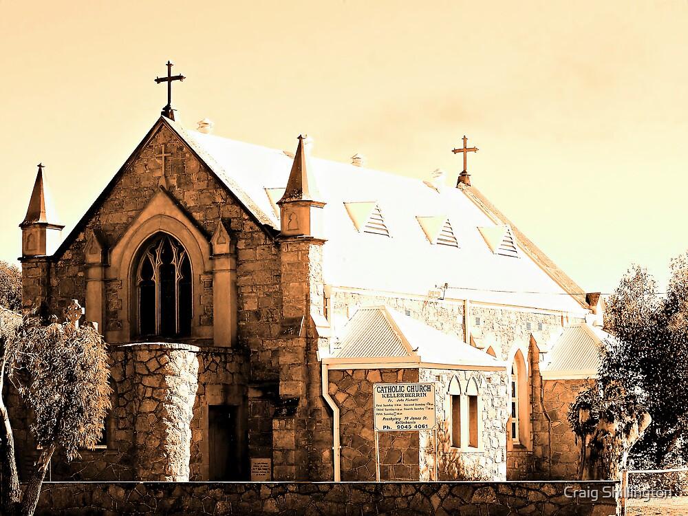 Kellerberrin Catholic Church by Craig Shillington