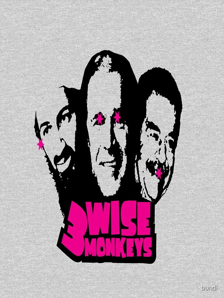 3 WISE MONKEYS by bundi