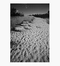 A Billion footprints Photographic Print