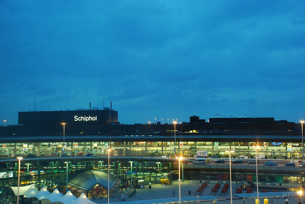 schiphol airport by wella