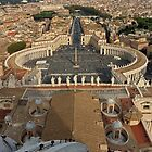 St. Peter's Square by Dave Cauchi