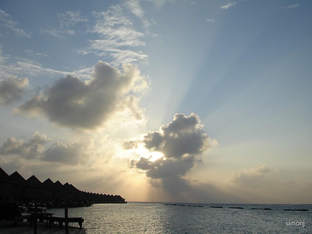 Sun rays by simonj