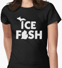 Ice Fish Women's Fitted T-Shirt