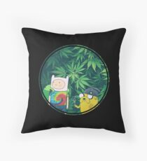 Stoner Time Throw Pillow
