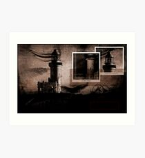 My facination with lighthouses Art Print