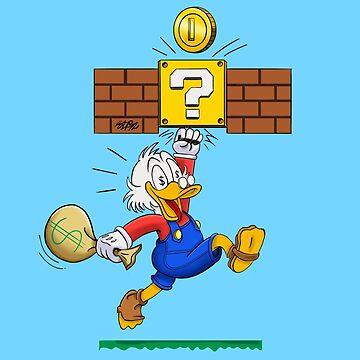Scrooge McMario  by stfn