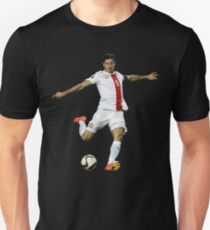 Robert Lewandowski shoot ball T-Shirt
