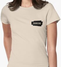 Sanvers (Brush) Womens Fitted T-Shirt