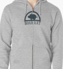 The Seven Deadly Sins (Boar Hat Bar) Zipped Hoodie