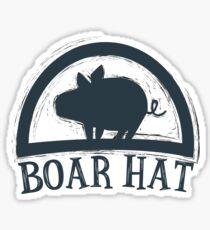The Seven Deadly Sins (Boar Hat Bar) Sticker