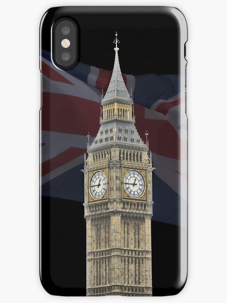 Big Ben iPhone Case by flashcompact
